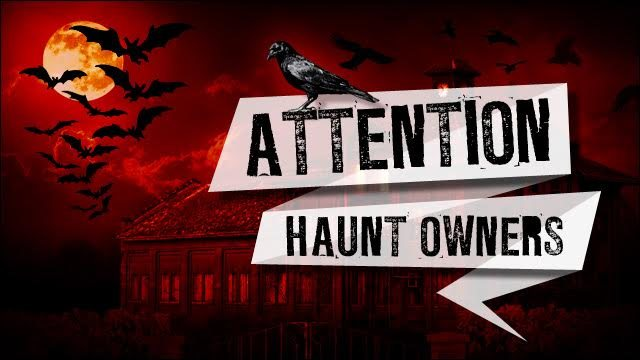 Attention Washington DC Haunt Owners